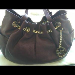 Brand New! Michael Kors leather handbag